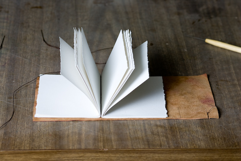 book arts and photography how to make a leather journal